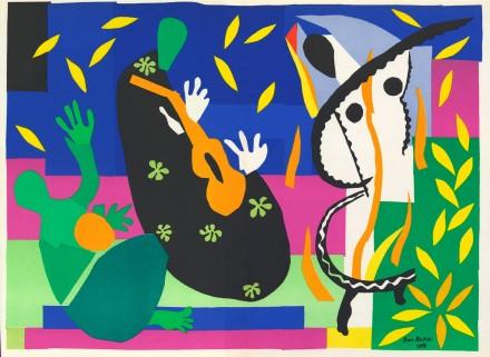 Henri-Matisse-Sorrow-of-the-King-1952