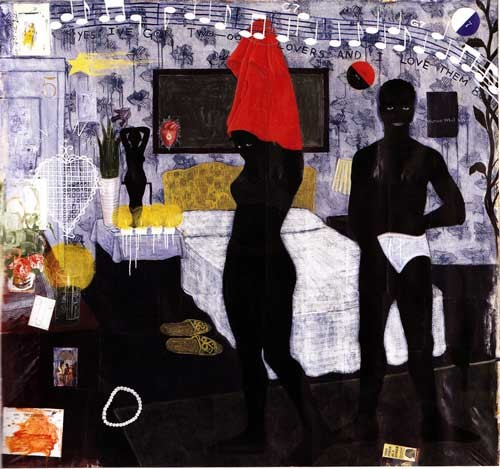 Could This Be Love, 1992 Kerry James Marshall