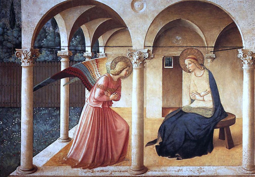 The Annunciation, 1437-1446 Fra Angelico