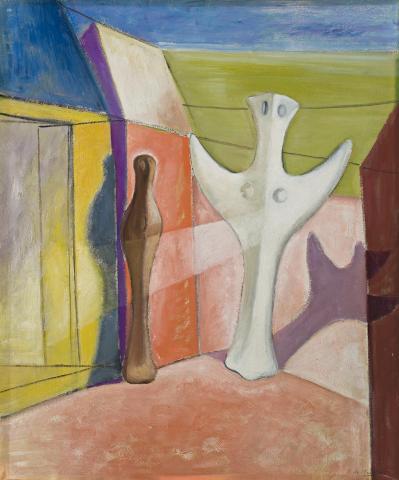 Annunciation, 1934, Roy de Maistre, Private collection, Switzerland