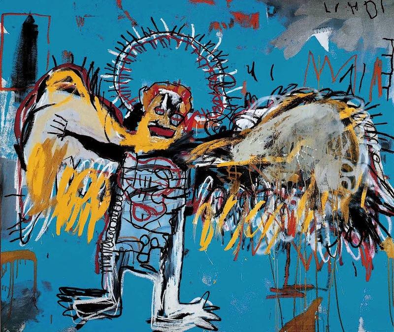 Fallen Angel Jean-Michel Basquiat 1981